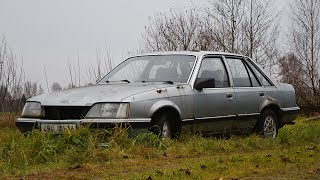 1984 Opel Senator A2 2.0 Driving After 7 Years (1080p)