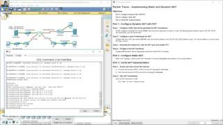 9.2.3.6 Packet Tracer - Implementing Static and Dynamic NAT
