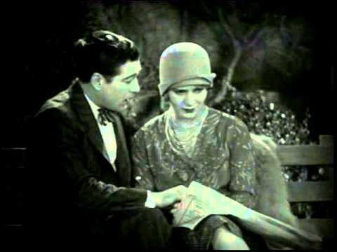 """A scene from the 1928 film """"Lights of New York,"""" with Cullen Landis and Helene Costello. For more information, visit moviedavid.blogspot.com!"""