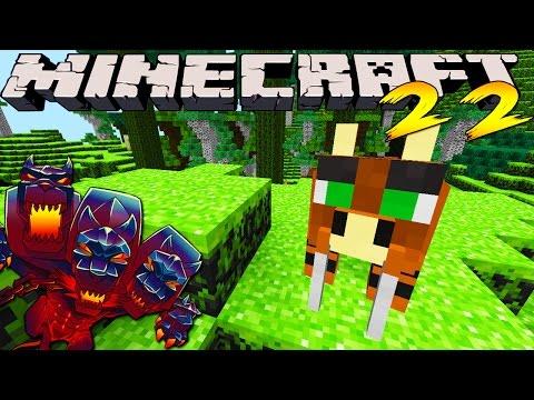Minecraft Mods MONSTERCRAFT Ep # 22 SABER TOOTH