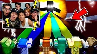 FAMILIACRAFT REAGINDO: YOUTUBERS UNIDOS CONTRA O MAL !! - Minecraft Animação