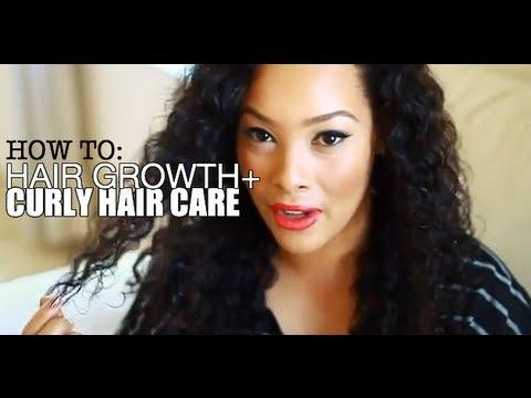 Hair Growth Tips + Curly Hair Care