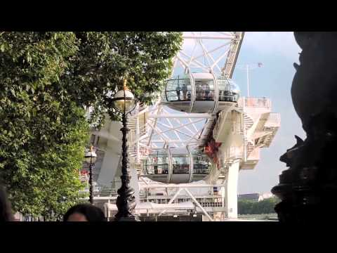 South Bank, River Thames, and the London Eye