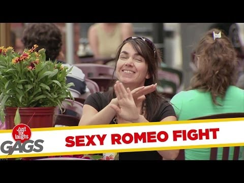 Sexy Romeo Fight Prank video