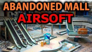 PLAYING AIRSOFT IN A HAUNTED ABANDONED SHOPPING MALL (CREEPY & EPIC)