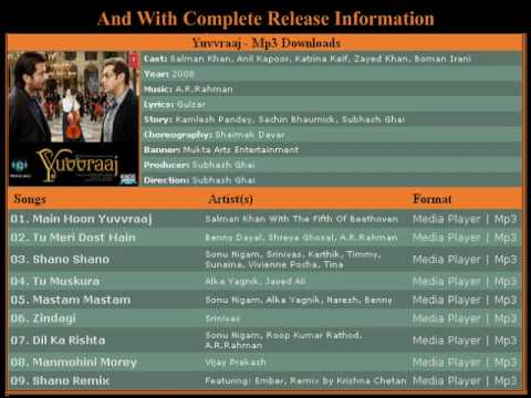 bollywood mp3 songs and wallpapers ( The best website ) Video