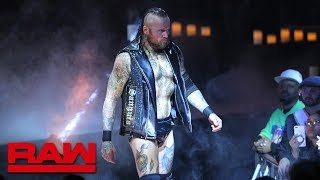 Aleister Black cancels Elias' performance: Raw, Feb. 18, 2019