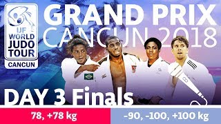 Judo Grand-Prix Cancun 2018: Day 3 - Final Block