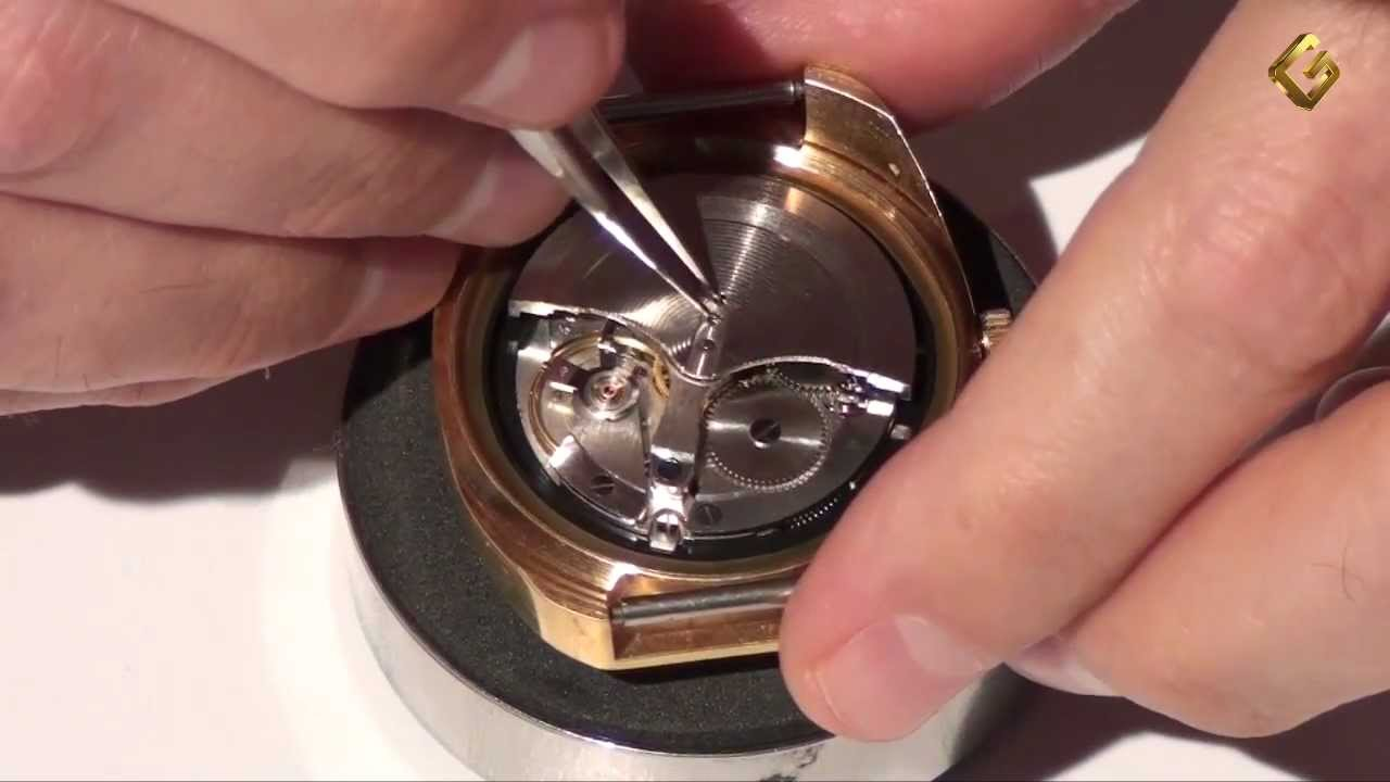 Смазка механических часов своими руками