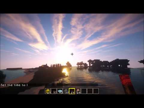 Photorealistic Minecraft! Shaders + HD Texture Pack + Physics Mod (GTX 760)