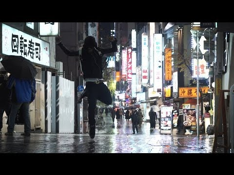 "LIL BUCK in ""Tokyo Rain"" Japan 