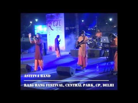 Swastina Indro Vedic Chants Raag Rang Festival | Astitva Band...