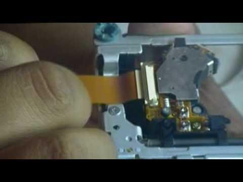 Desmonte y Ajuste de laser de PS2 Slim SCPH-90001 parte 2