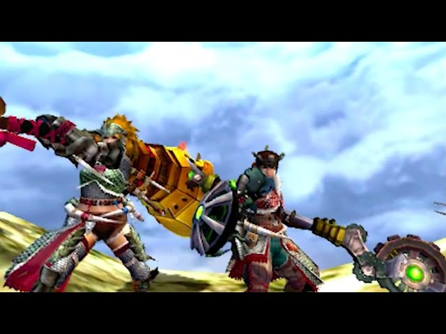 Monster Hunter 4 Ultimate March 2015 Update Trailer