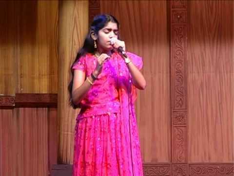 Ritika Nair singing Neermizhi Peeliyil