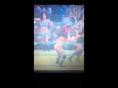 TNA Impact 7/26/12 Madison Rayne and Gail Kim vs Mickie James and Tara
