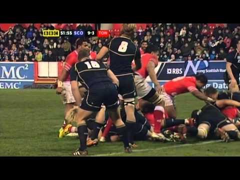 Tonga vs Scotland 2012 Full