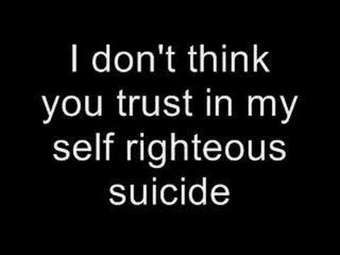 Chop Suey - System Of A Down (lyrics) video