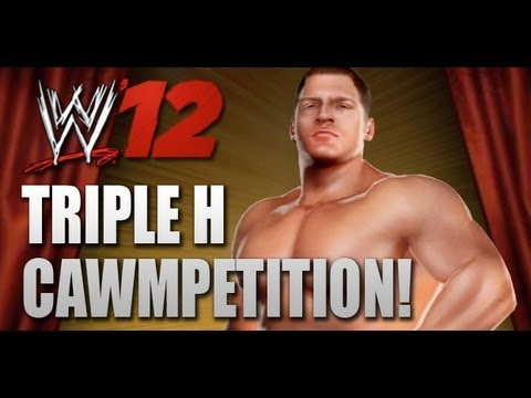 WWE '12 Triple H CAWMPETITION! (Closing Date: July 25th)