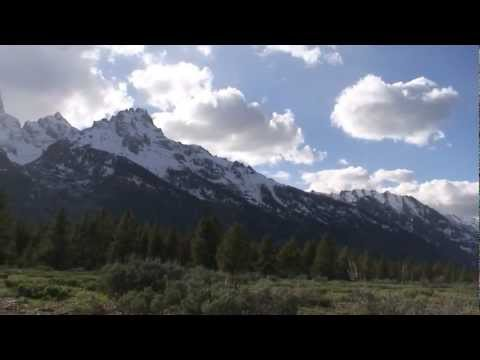 Teton Range panorama majestic in HD in Grand Teton National Park Wyoming USA!