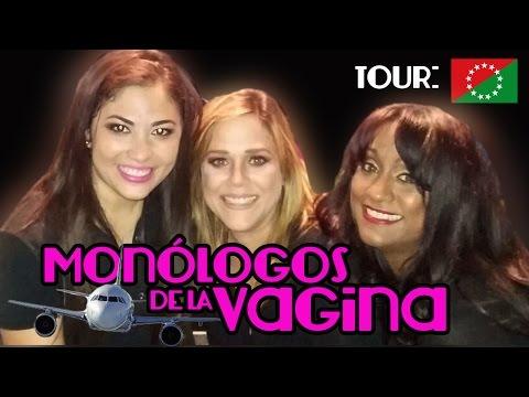AnaAlejandraTV en Chiriqui con Los Monologos de la Vagina