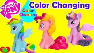 My Little Pony Color Changing Magic Bath Figures