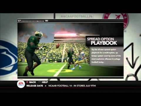 NCAA Football 14 Demo- What's New This Year?