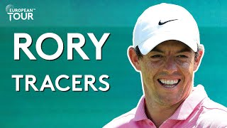 Rory McIlroy on Top Tracer for 4 minutes straight