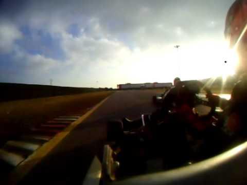 #2 Ingvild Liseth driving DR/KF3, South Garda Karting 2010