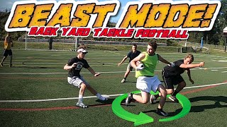 Backyard Tackle Football is Here!! BIG HITS - BROKEN ANKLES - TOP PLAYS!!