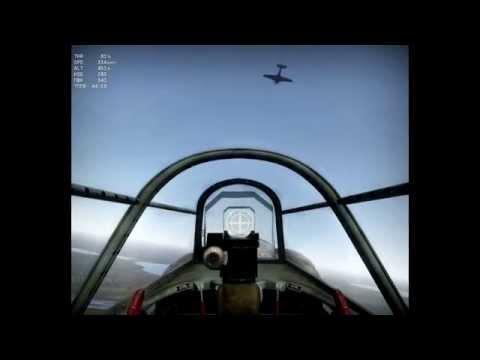 War Thunder: Групповой пилотаж. Обучение полету за ведущим