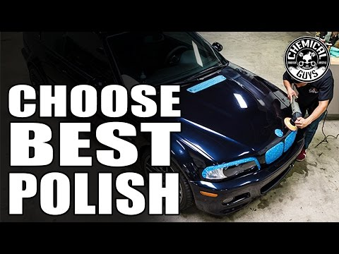 How To Choose The Right Compound Or Polish For Your Car - Chemical Guys V-Line Of Polishes