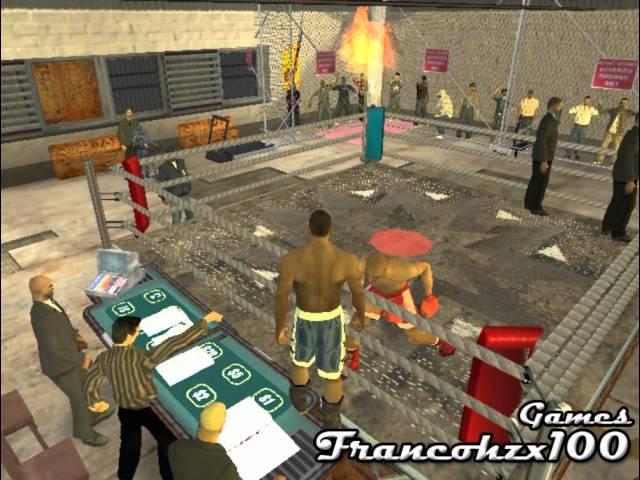 La primera pelea de boxeo a CJ - Gta San Andreas Loquendo