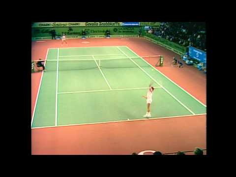 1980 Stockholm Open Final Borg vs McEnroe