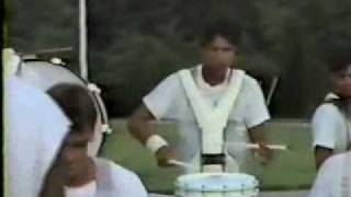 1993 Blue Knights Drum Feature Little green men (Steve Vai)