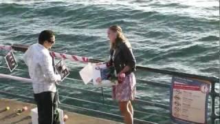 Best Surprise Proposal At The Santa Monica Pier