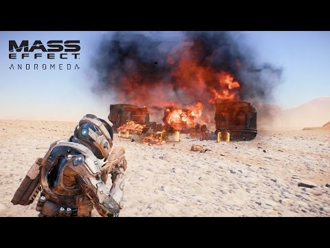 MASS EFFECT Andromeda | Combat | Official Gameplay Series - Part 1