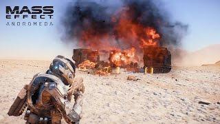 MASS EFFECT Andromeda Combat Official Gameplay Series Part 1 VideoMp4Mp3.Com