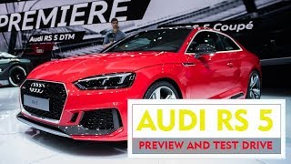 2018 AUDI RS 5 - Preview and Test Drive