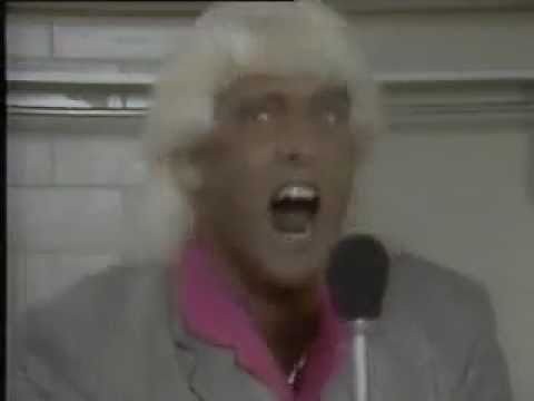 Ric Flair 1988 wrestling interview Video