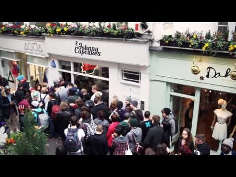 Johnny Cupcakes London Part 3 of 3 - The Grand Opening