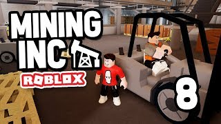 THE DEV PUT ME IN THE GAME - Roblox Mining Inc Remastered #8