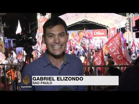 Brazil's Rousseff faces tough re-election bid