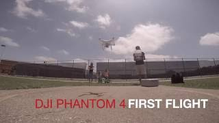Phantom 4 First Day