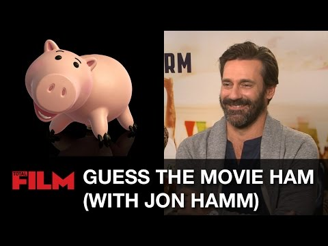 Jon Hamm plays Guess the Movie Ham