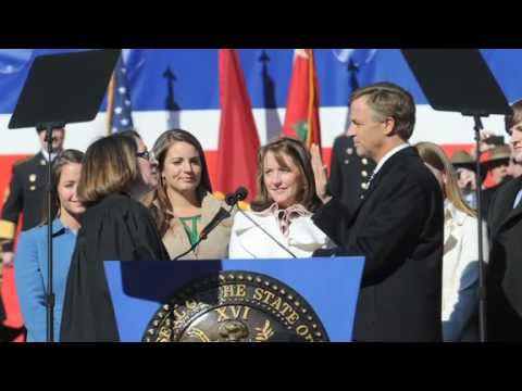 Scenes from Gov. Bill Haslam's inauguration