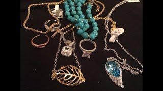 Jewelry mystery  lot reveal unboxing another diamond ring!