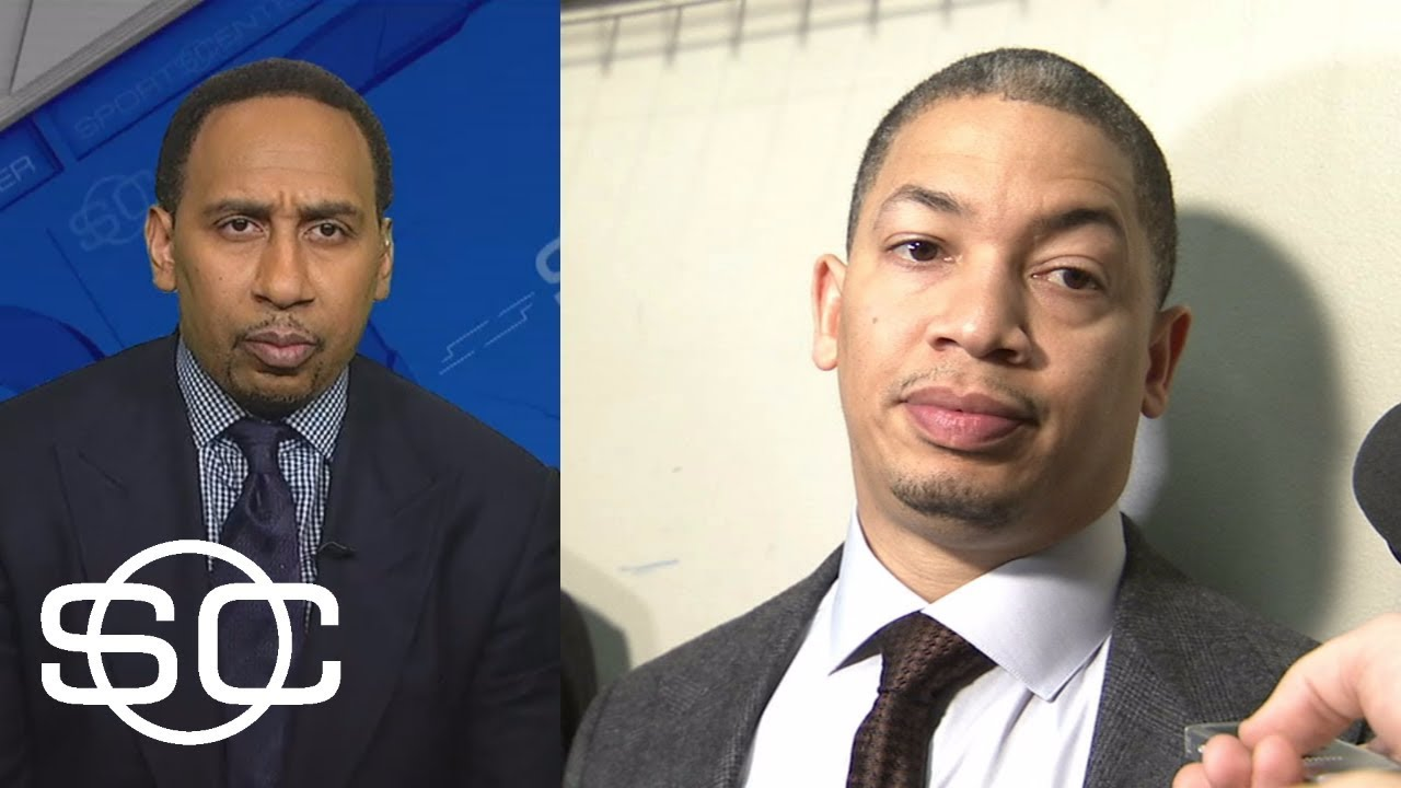 Stephen A. Smith reacts to Tyronn Lue saying players must get rid of agendas   SportsCenter   ESPN