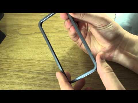 AL13 Ultrathin Aluminum Bumper for iPhone 5 - Review