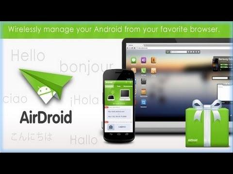 Controlar tu Android desde la PC - AirDroid